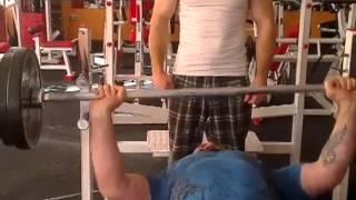 Жим штанги 100 кг на 40 раз