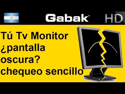 Tv o monitor lcd no se ve qu puedo hacer youtube for Mi televisor se escucha pero no se ve la imagen