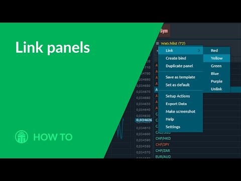 How to: Panels linking