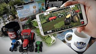 Farming Simulator 18 na Telefonie /FS18 #6 ☆ Sianokosy & Nowe Zakupy ㋡ MafiaSolec
