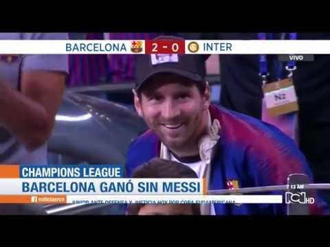 Barcelona vs Inter de Milán: Resumen y goles de la victoria catalana 2-0 en Champions League