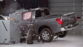 2017 Nissan Titan Crew Cab Crash Test