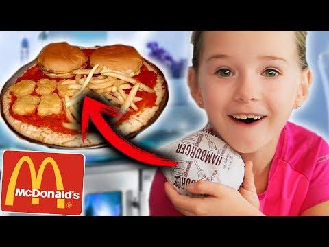 Wir MISCHEN ALLE McDonalds Burger zur ERSTEN McDonalds Pizza der Welt! Lulu & Leon - Family and Fun