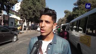 ازمة سير خانقة بمحيط جامعة اليرموك وهيئة النقل البري ترفض الرد
