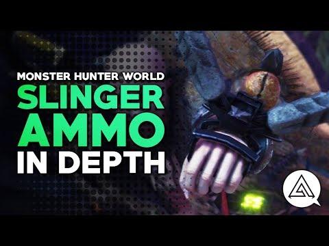 Monster Hunter World | Slinger Ammo in Depth