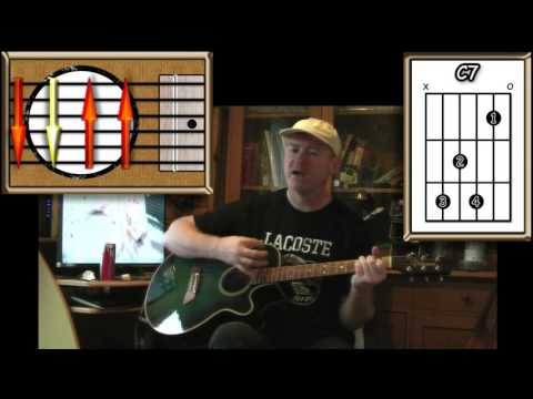 From Me To You - The Beatles - Acoustic Guitar Lesson (detune 1 fret)