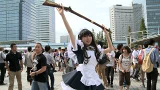 cute cosplay girls @ Tokyo comiket 2012 best of HD