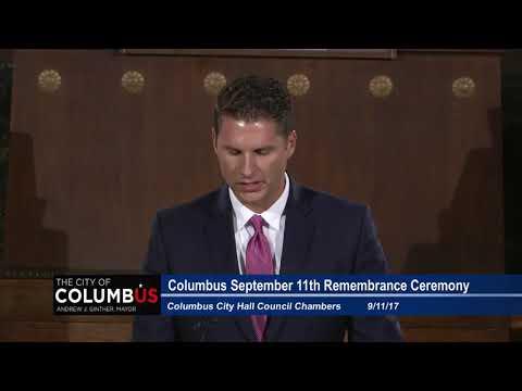 Columbus 9/11 Remembrance Ceremony 2017