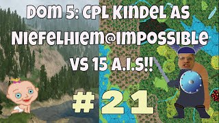 Dominions 5 Warriors of the Faith, Cpl. Kindel gameplay #21 Dom 5 is a turn based 4x strategy game