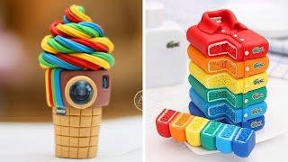 The Best Rainbow Cake Decorating Ideas | So Yummy Cake Decorating Recipes | Yummy Cookies