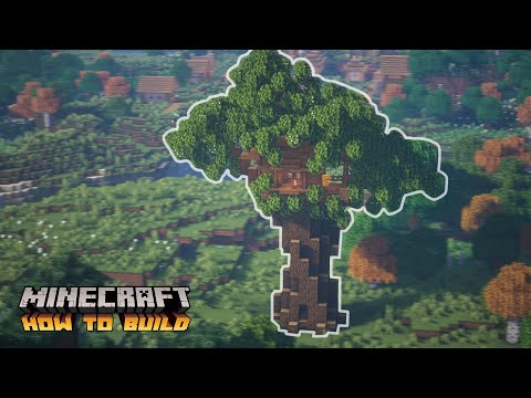 Minecraft: How to Build a Survival Treehouse (Quick Tutorial)
