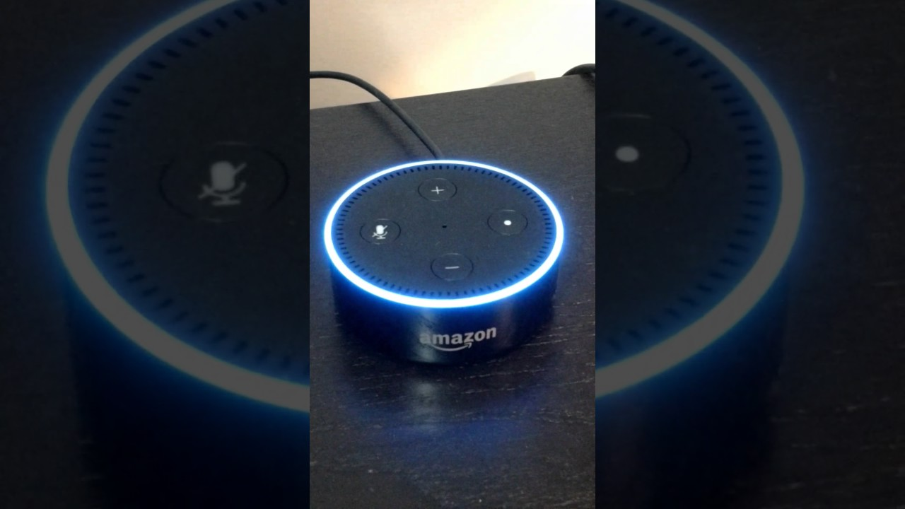 ordering echo dot with alexa youtube. Black Bedroom Furniture Sets. Home Design Ideas