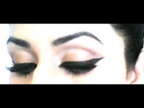 Great Tips! Perfect Winged Eyeliner tutorial for beginners! (super ...