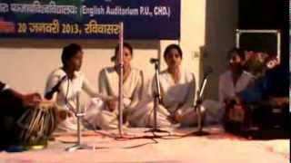 Sanskrit Patriotism Song Competition 20 January 2013 (Sunday) video 2