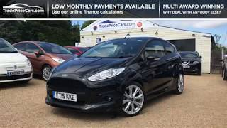 2015 FORD FIESTA 1.0 ZETEC S FOR SALE   CAR REVIEW VLOG