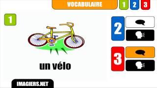 уроки французского # un vélo