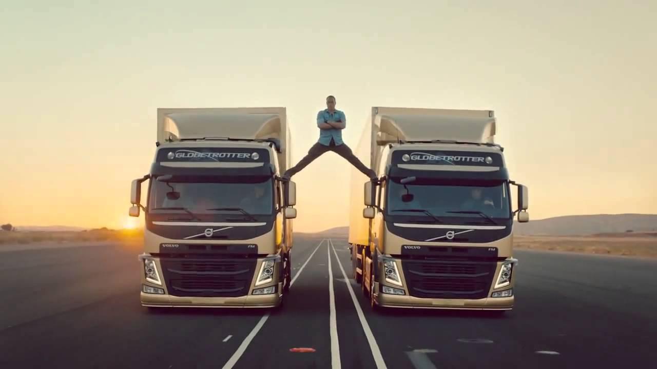 Jean-Claude Van Damme Epic Volvo Trucks Commercial! - YouTube
