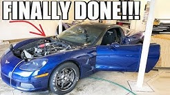 I DID IT!!! Engine Swap in ONE Day. I DoNt WoRk On My OwN cAr