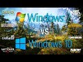 Windows 7 vs Windows 10 Test in 8 Games