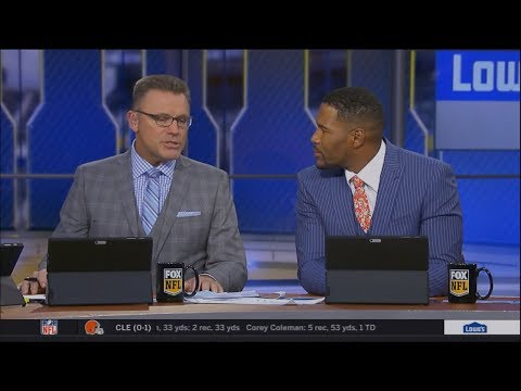 Michael Strahan & Howie Long Talk About Stafford vs. Palmer