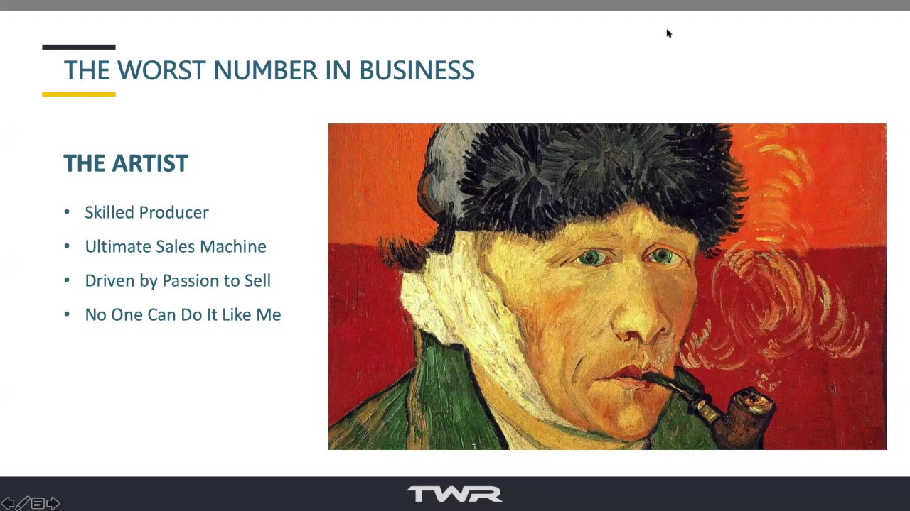 MasterClass 1 - The Worst Number in Business: How to Grow Your Channel Business.