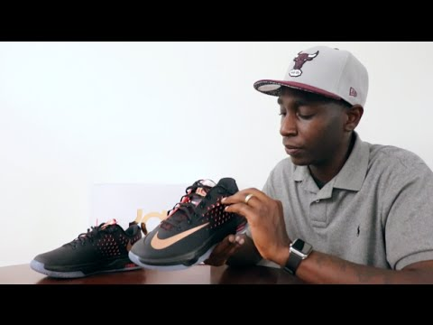 1d4ba3ab767 Nike KD 7 Elite Fathers Day Gift Rose Gold Collection Sneaker Review ...