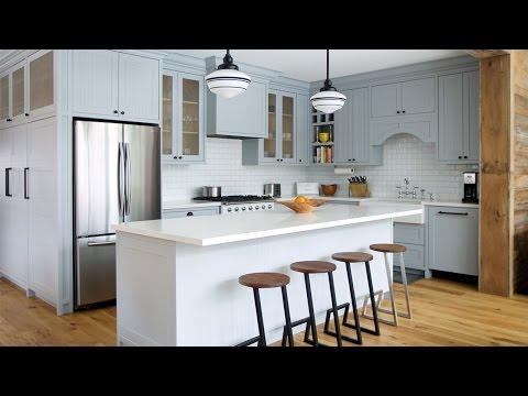 Interior Design – Tour A Farmhouse-Inspired Family Room & Kitchen