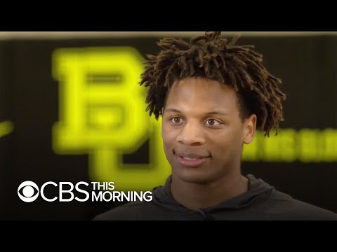 College basketball star Freddie Gillespie on Baylor's record-setting season