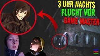 GAME MASTER 3 UHR NACHTS im WALD GEFUNDEN 😲 SEIN GEHEIM VERSTECK 😱  SCARY TipTapTube 😨