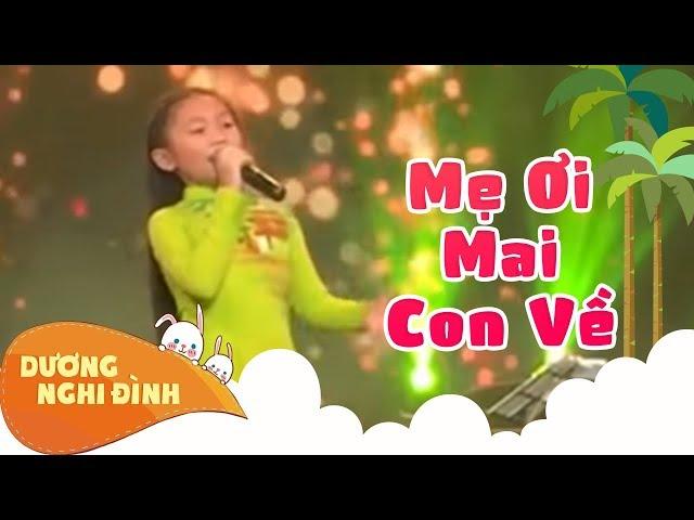 Karaoke : Mẹ Ơi Mai Con Về  - DƯƠNG NGHI ĐÌNH . ST/ NSƯT HOÀNG NHẤT