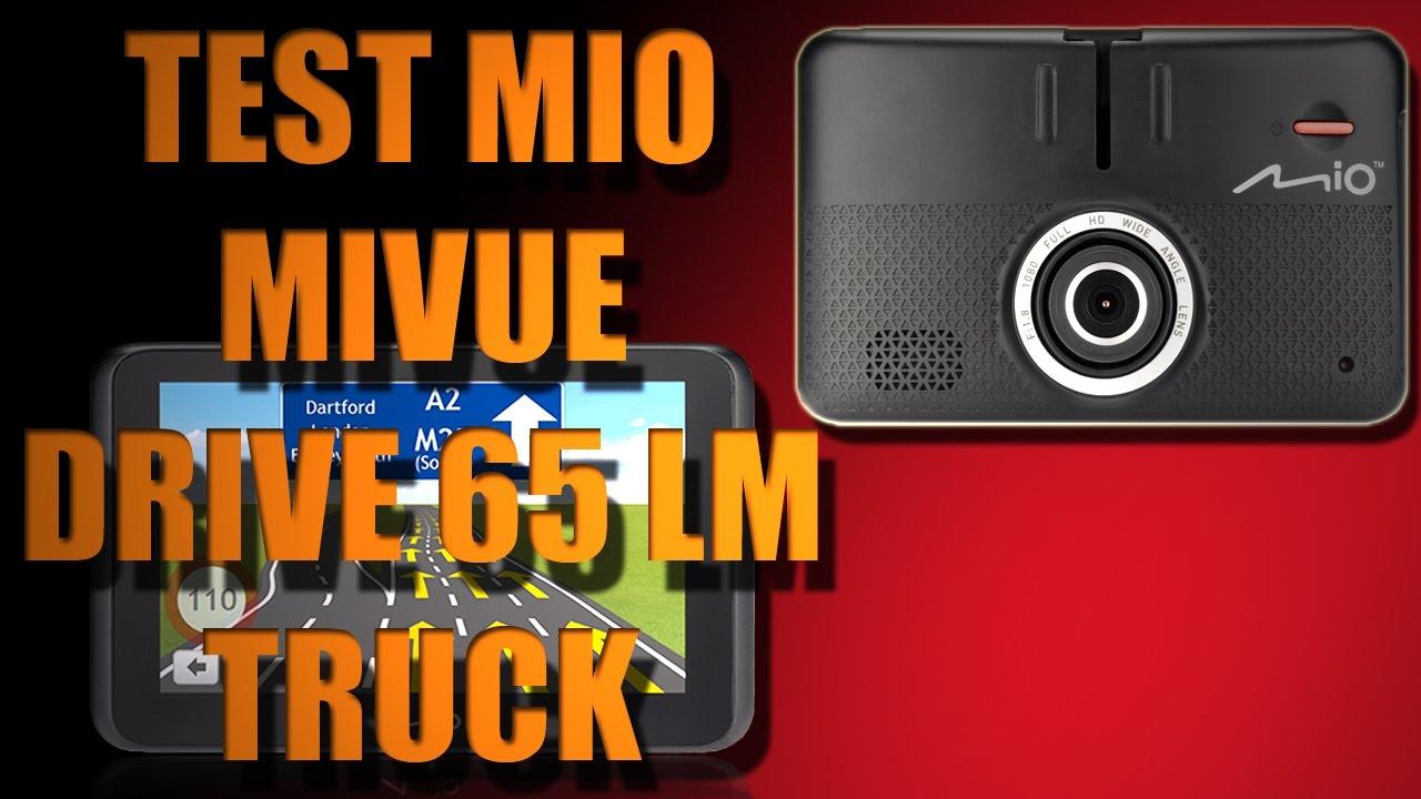 sängar mio test ~ moto testy  mio mivue drive 65 lm truck test  youtube