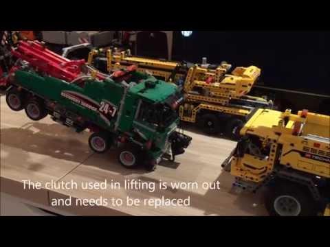 lego technic 42009 ultimate 42042 lifting 42008 youtube. Black Bedroom Furniture Sets. Home Design Ideas