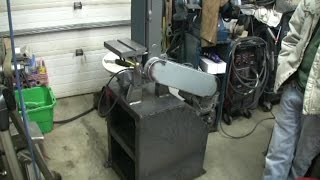 Diy Base And Belt Guard For A Shopsmith Mark V Belt Sander, Part 2