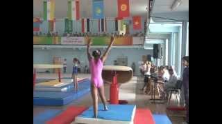 Спортивная гимнастика Дети Азии