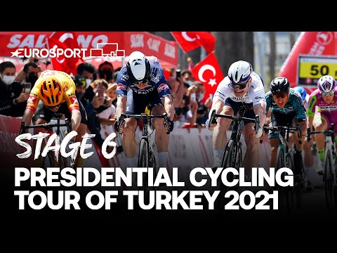 Presidential Cycling Tour of Turkey 2021 - Stage 6 Highlights | Cycling | Eurosport