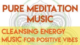 American Native Flute Meditation for cleansing energy positive vibes. Relax, healing music calm mind