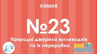 Онлайн-урок ЗНО. Химия №23. Природные источники углеводородов и их переработка.