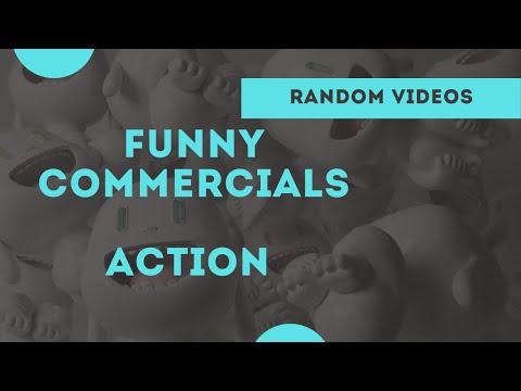 smesne reklame — akcija (funny commercials — action)