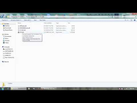 canon service tool v5103 crack download - YouTube