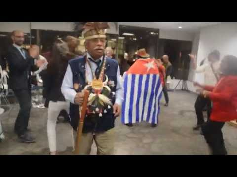 Dancing to Support Free West Papua in United Nations - Part 1