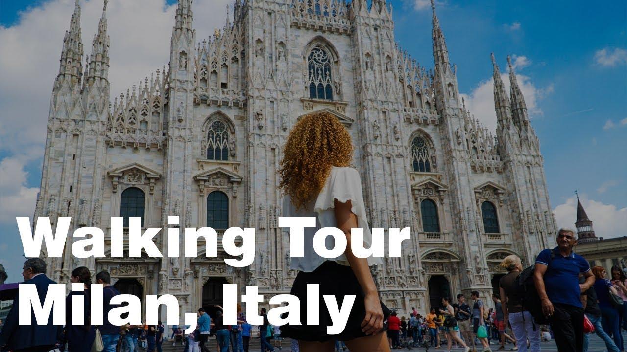 Walking Tour Milan Italy 4k Youtube