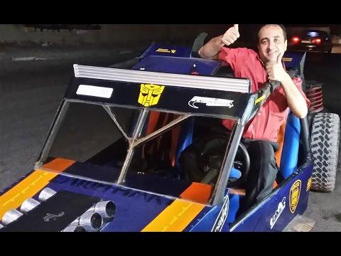 صناعة سيارة الرمل في قطاع غزة beach car in the Gaza Strip