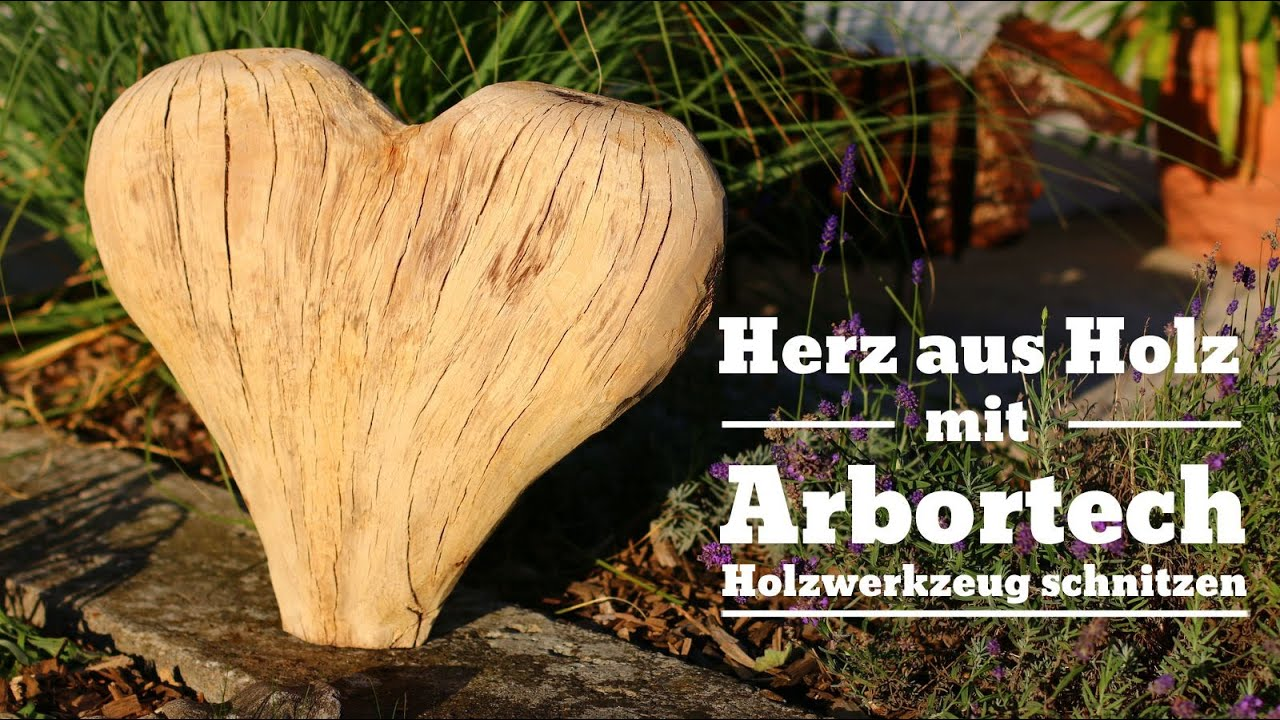 gro es herz aus holz schnitzen mit arbortech turboplane. Black Bedroom Furniture Sets. Home Design Ideas