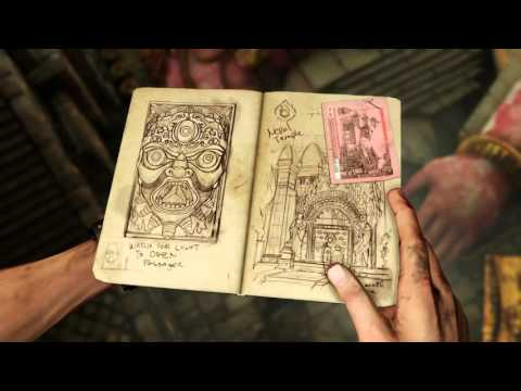 Uncharted 2: Nathan Drake's cursed journal