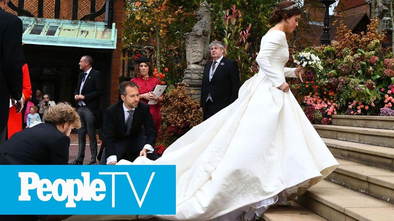 Royal Wedding Youtube.Princess Eugenie Arrives At Her Royal Wedding Peopletv Youtube