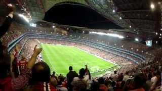 Football Match - The Sights and the Sounds (Crowd PoV) - Gopro Hd Hero 2 edit (Benfica VS. Chelsea)