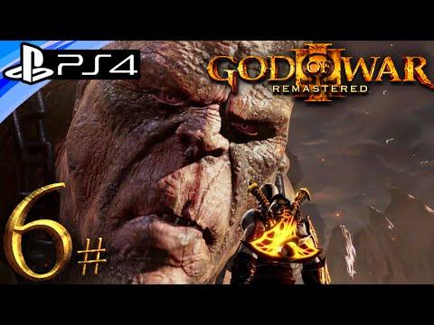 God Of War 3 Ps4 Remastered Cronos Boss Gameplay Walkthrough Part 6 Live Stream