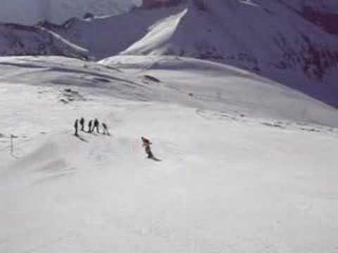 Snowboarding @ Elsigenalp
