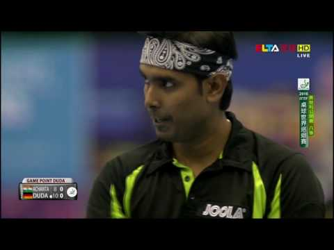 2016 Austrian Open (MS-QF) ACHANTA Sharath Kamal - DUDA Benedikt [Full Match/Chinese|HD1080p]