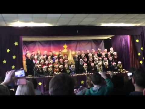 Abbie school Christmas 2015